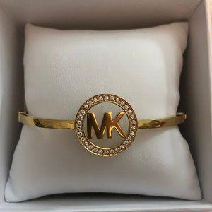 NWT - Michael Kors Bangle Bracelet- Yellow Gold
